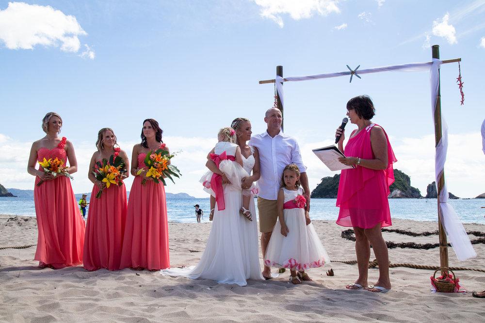 Nick and Jenna's wedding