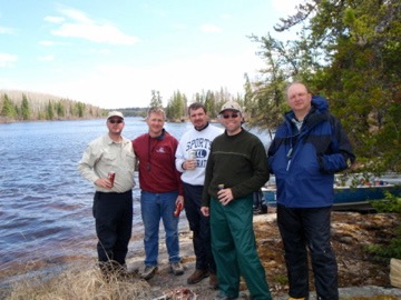 Fishing in Canada with Paul Straka, Mike Roylance, Jamie Sommerville, and Tom Rolfs