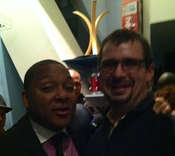 With Wynton Marsalis at Dizzy's Club- NYC