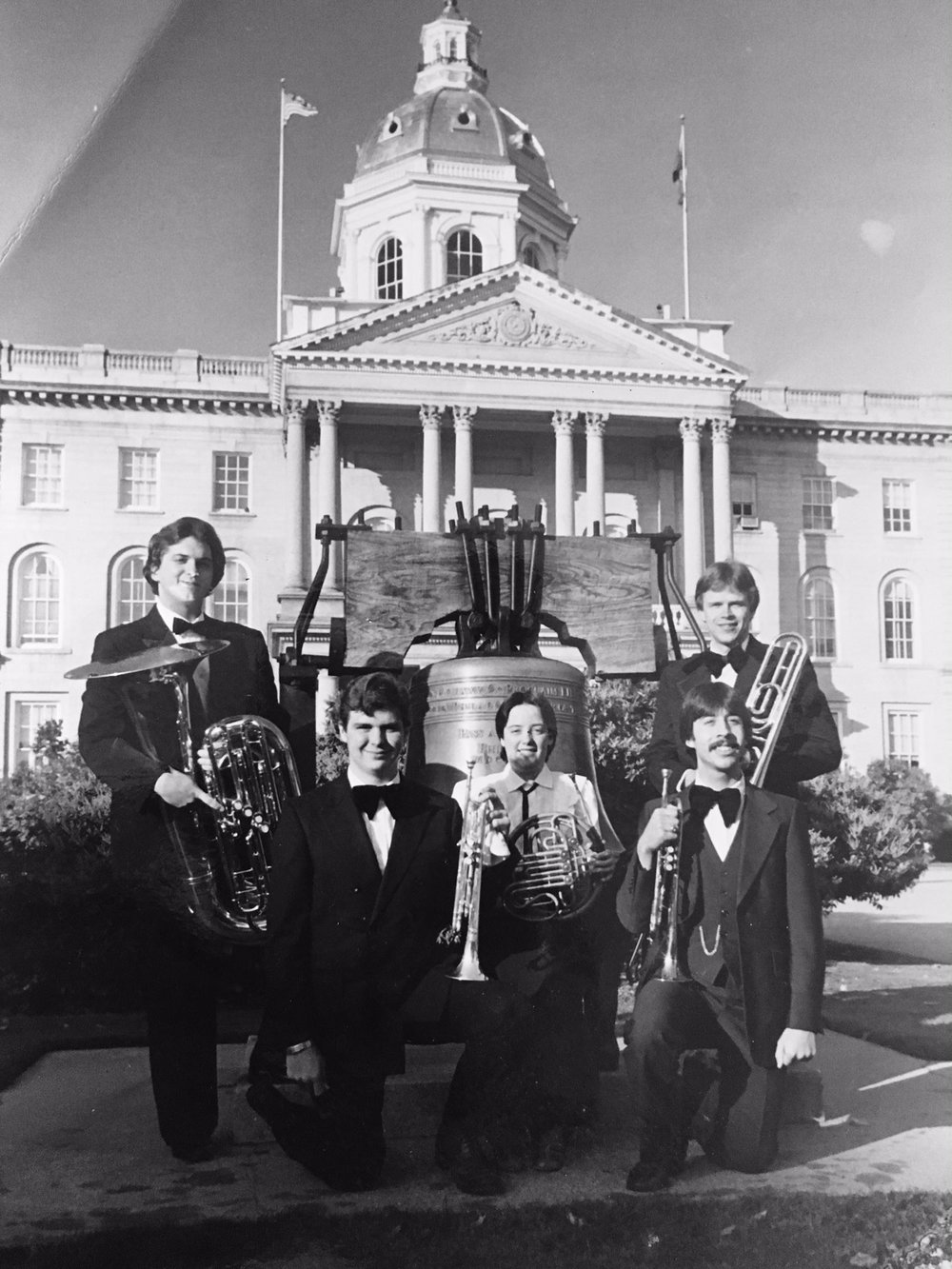 The Concord Brass Quintet circa 1981