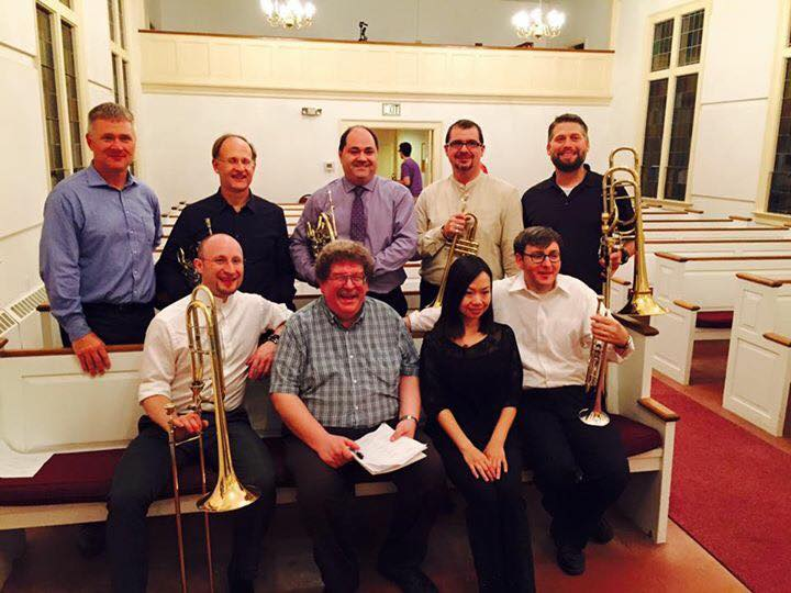Berkshire Summer Music Brass Faculty with Eric Ewazen and Kelly Lin
