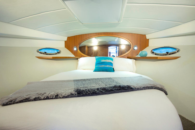 Salthouse Corsair 44C Fwd Cabin