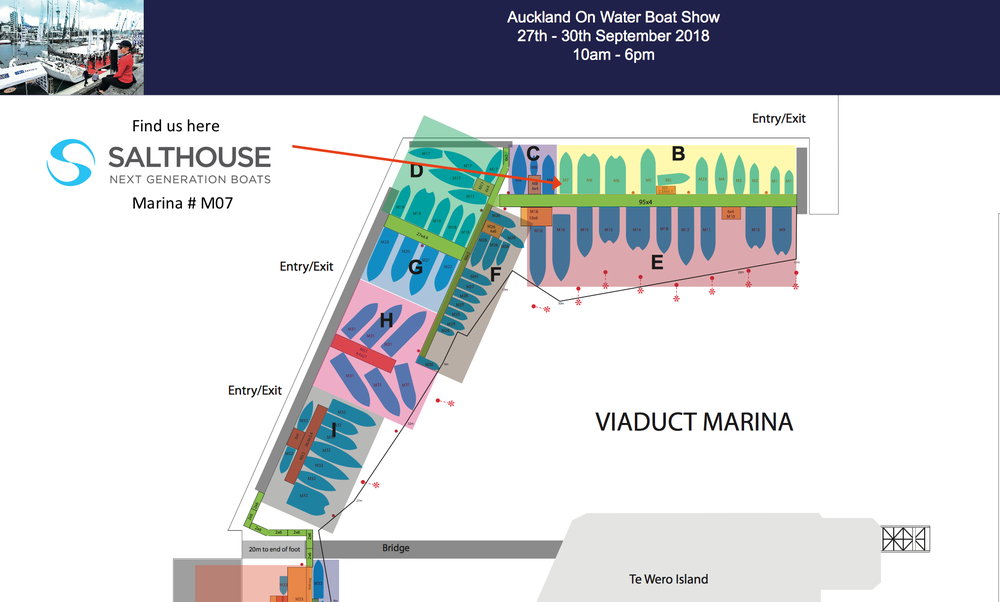 Auckland on Water Boat Show map - Salthouse Next Generation Boats .png