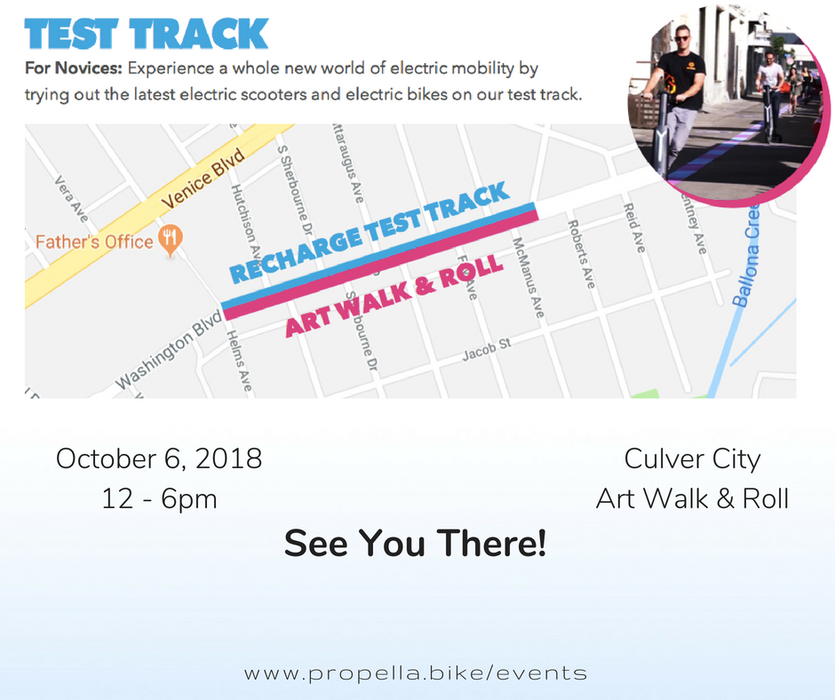 culver city electric bike event
