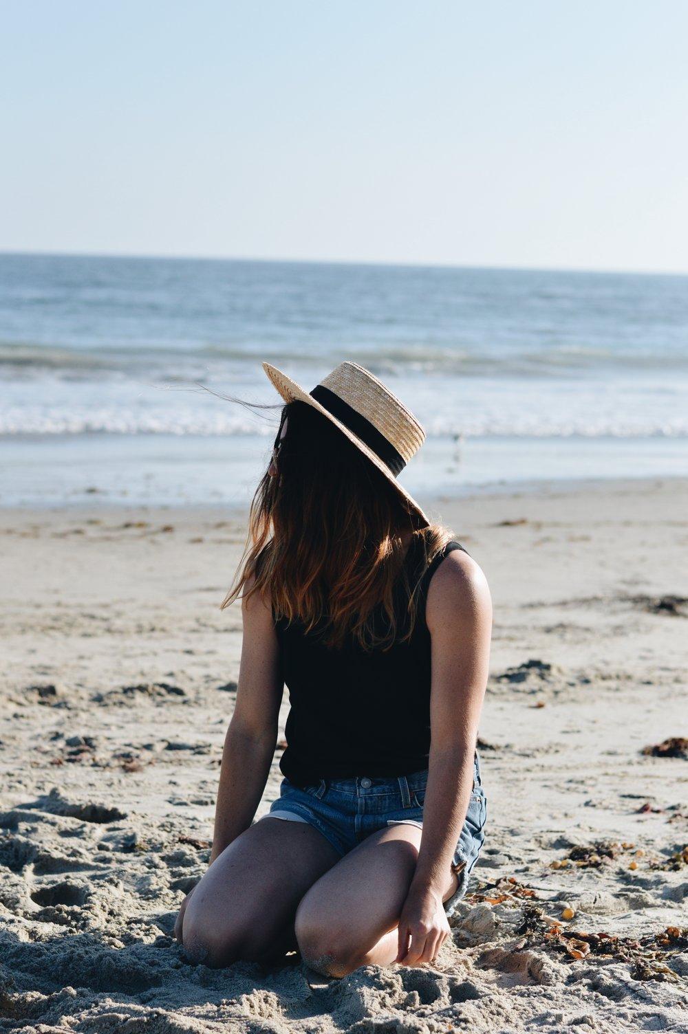 H&M hat –Madewelltank –Levisshorts –Madewellsunglasses