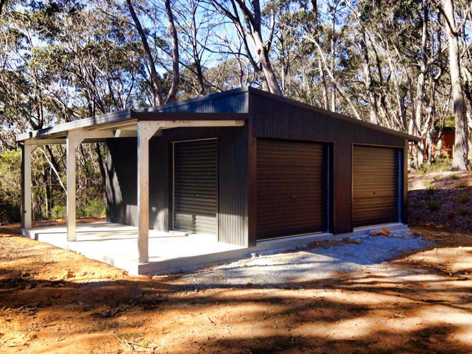 storage sheds or commercial buildings the