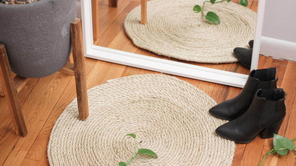 Diy Round Rope Area Rug Katie Bookser