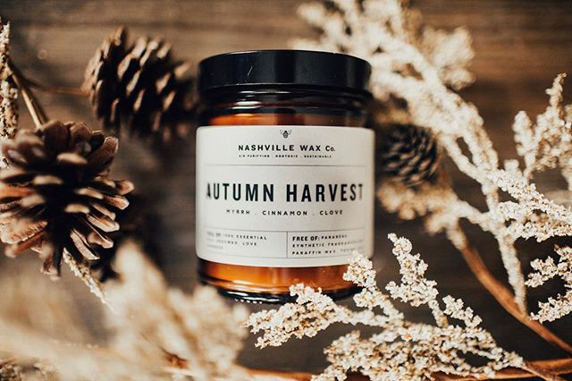 Our full Autumn candle line doesn't launch until next week but for now we have some of your original fall favorites to get you in the coziest of moods! Clean your air, support bee life and breath in only 100% essential oils while you burn your favorite #nashvillewaxco scents . . #nashvillewaxco #candlerevolution  #nashvillecandle #nashvillecandleco #beeswax #savethebees #100percentorganic #saynotosoy #sustainableproduct #candlecult #nofragranceoil  #beenation #thatsdarling #pursuepretty  #livethelittlethings #keepitwild #morningslikethese #liveauthentic #finditliveit #rsindieshop #makeyousmilestyle #petitejoys #nothingisordinary #howyouglow #foundforaged #slowmornings #momentsofcalm #myeverydaymagic