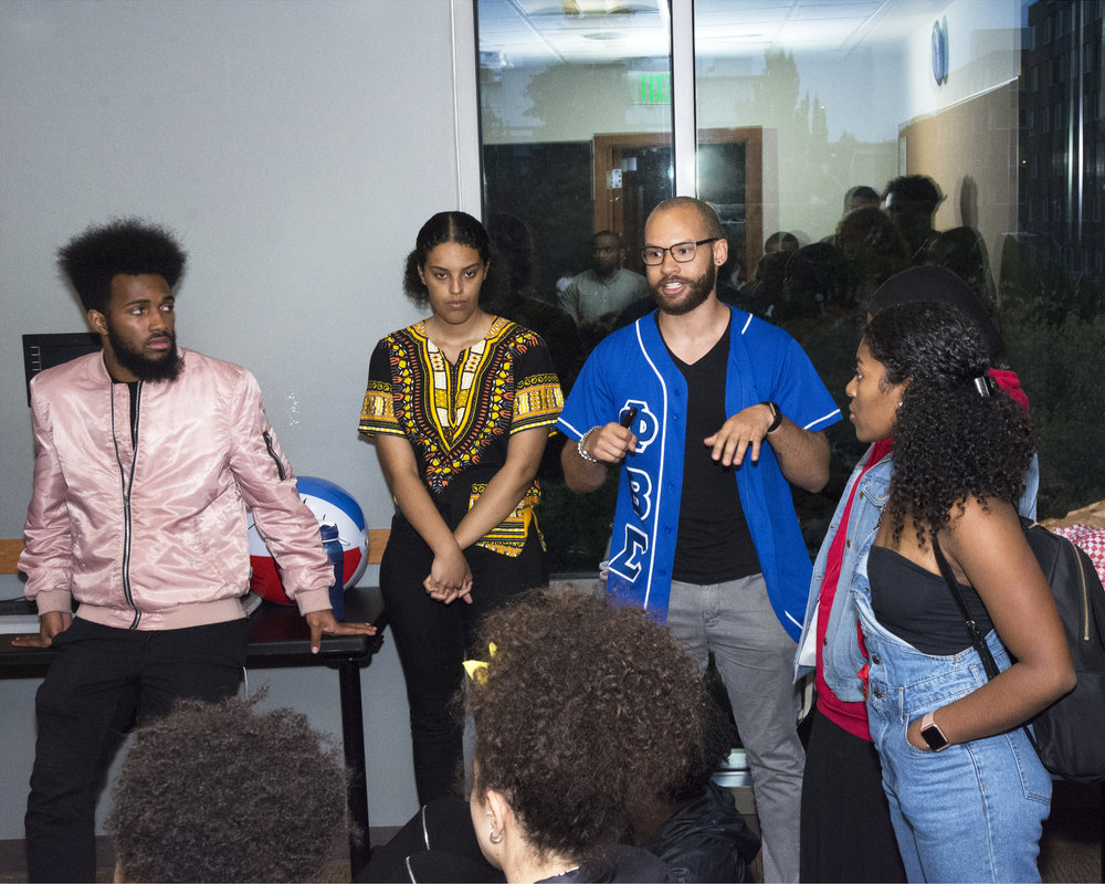 As a Black Student Union Executive Officer - among other leadership positions - I regularly organize with and advocate for Black Students on the UofWa Campus