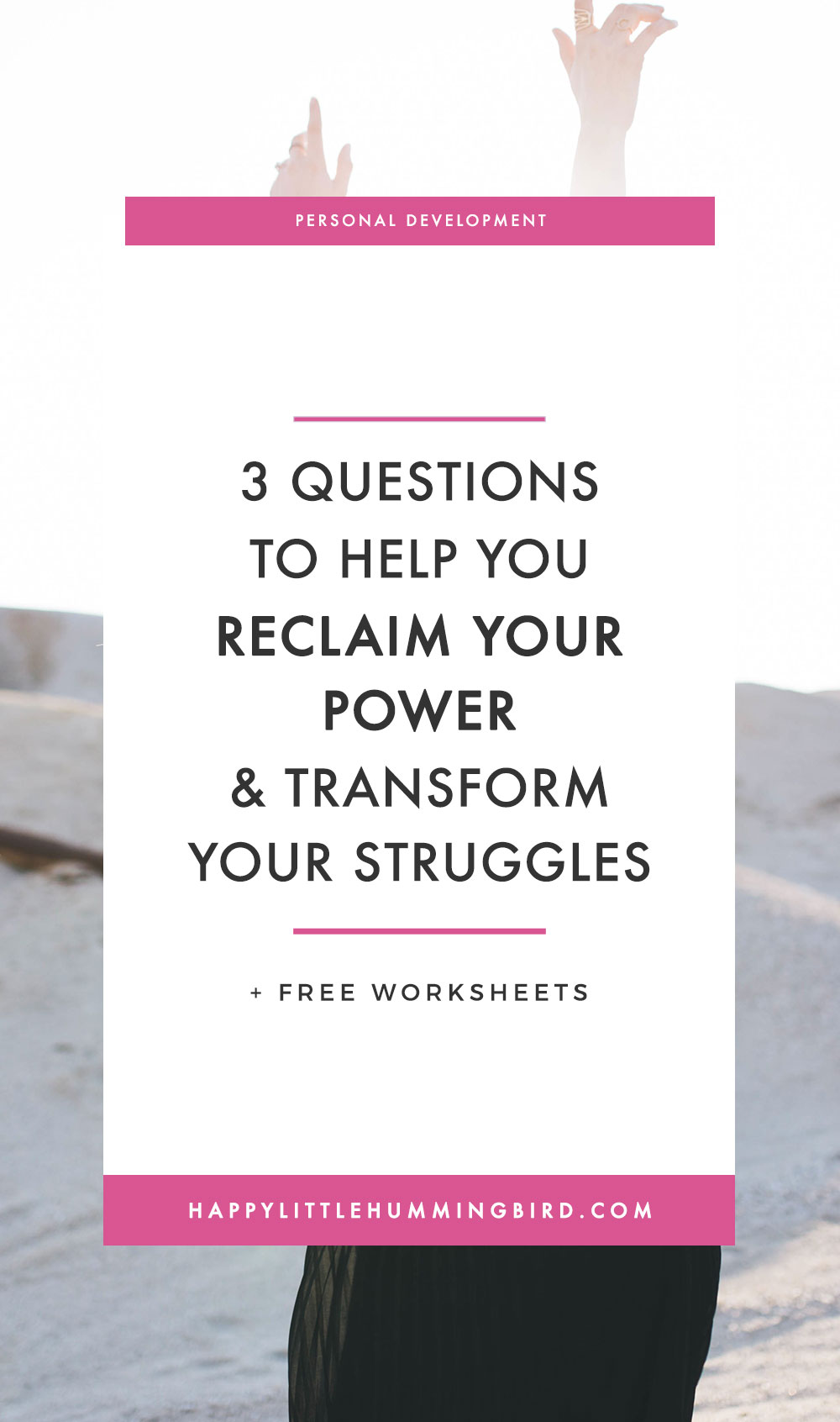 Are you facing a difficult situation right now and feel stuck, frustrated and don't know how to overcome it? Start by asking yourself 3 empowering questions to help shift your perspective and transform a challenging situation into a positive one.