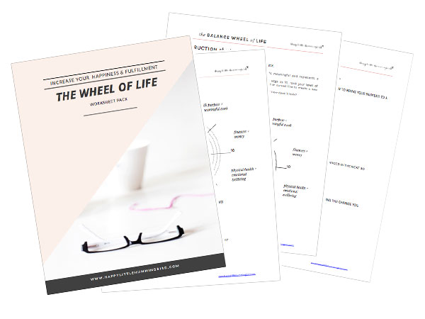 How To Determine Your Priorities in Life To Increase Your – Wheel of Life Worksheet