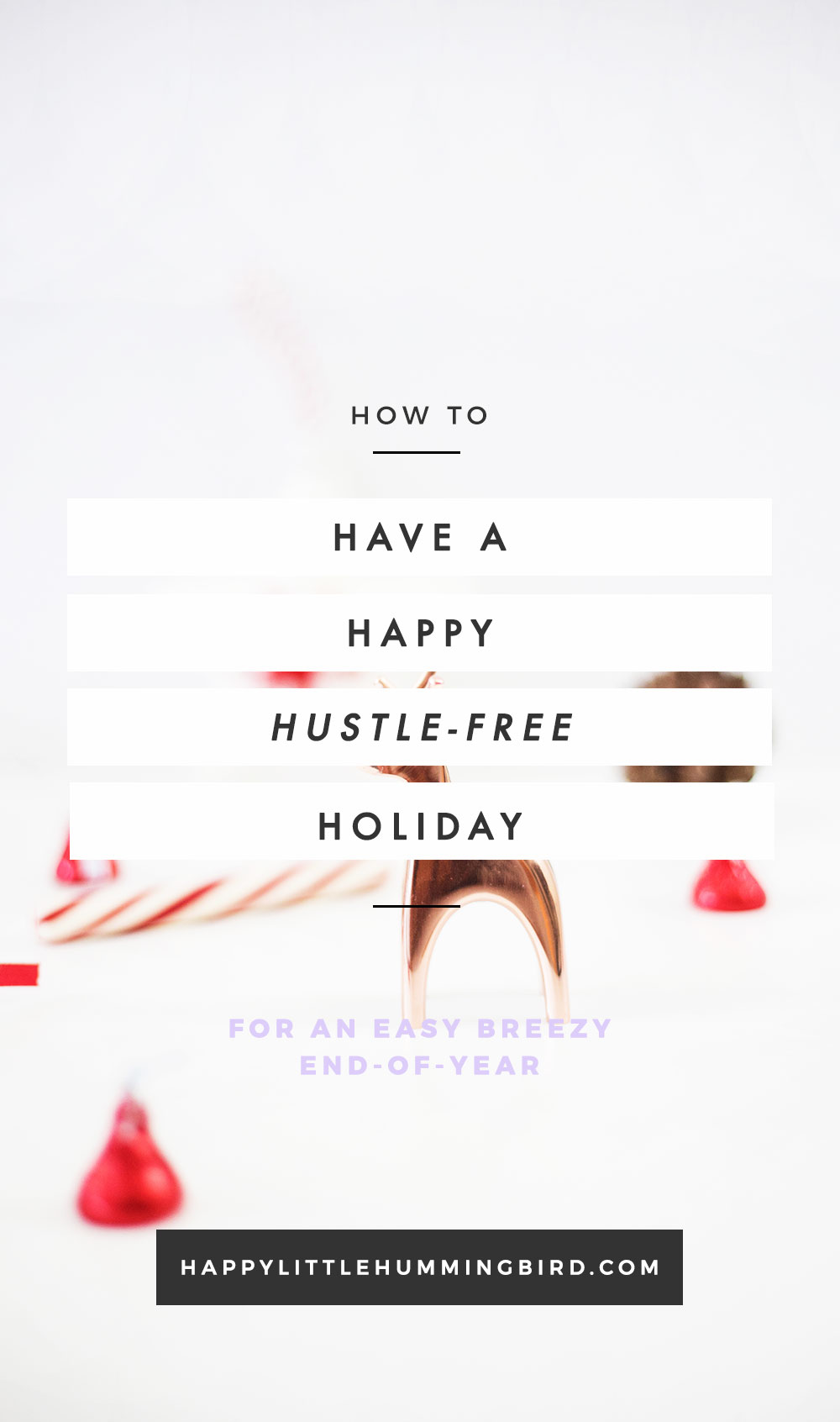 There's shopping to do, holiday cards to write, finishing touches to go on the tree, random to-dos to check off and end-of-year work projects that need to conclude—and those are just a few of the things on your rapidly growing list. I'm exhausted just thinking about it, too! In this post, I give my best tips for a happy hustle-free holiday to help invite more ease and flow into your already busy life & biz.