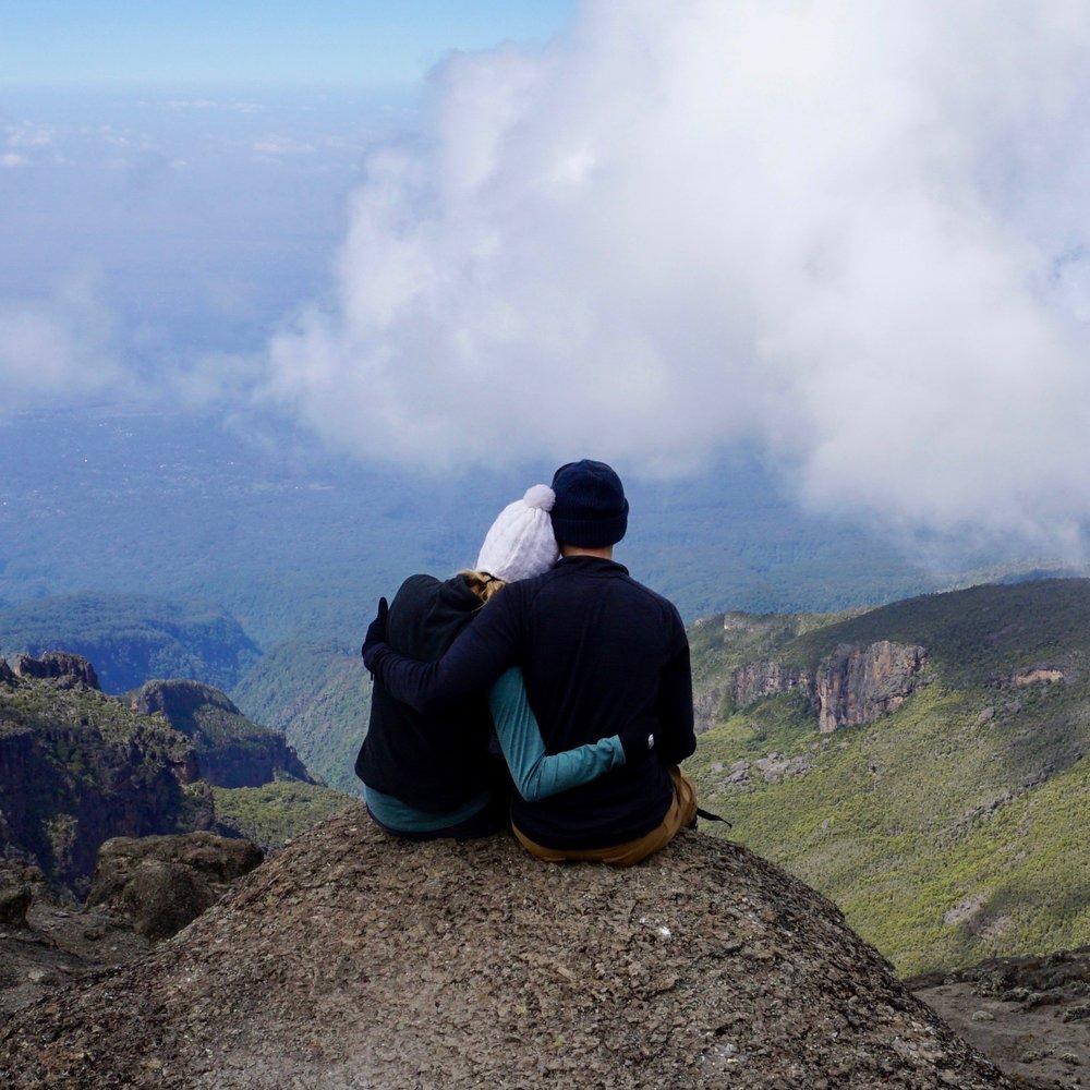 Mount Kilimanjaro at 13,000 feet