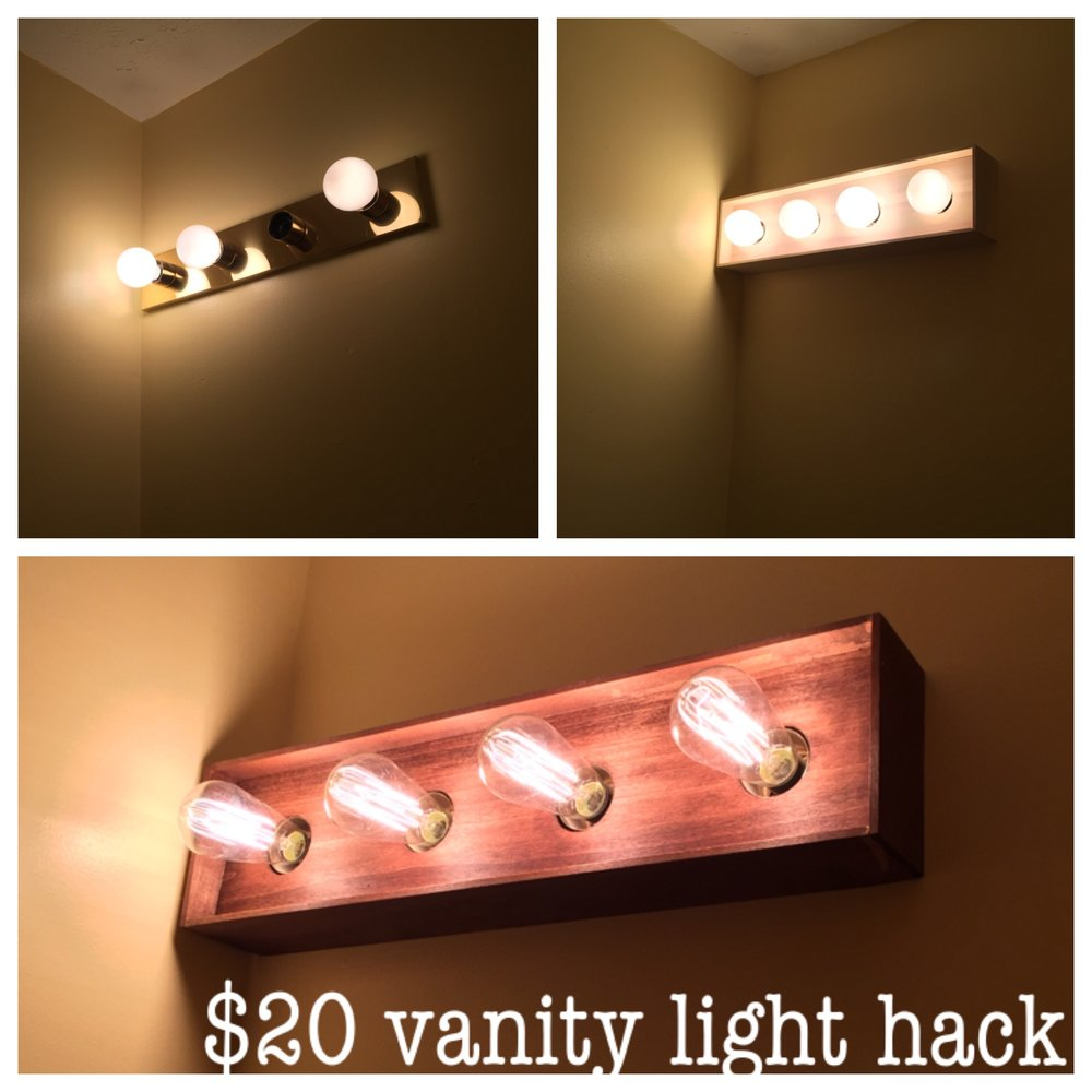 vanity light hack