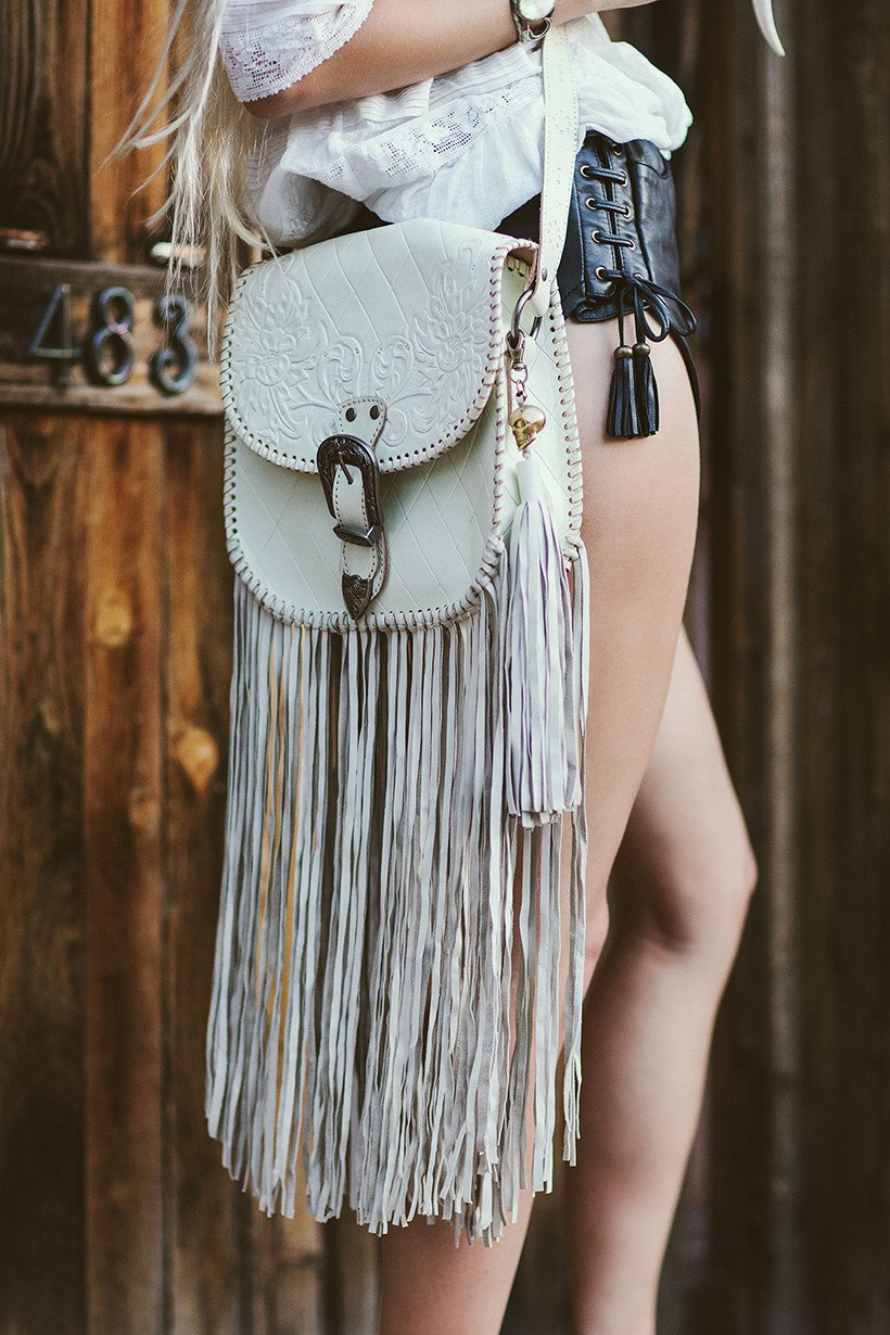 SPELL - Muse Fringe Bag