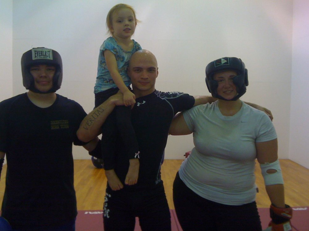 A good ol' fashioned sweaty sparring session (2012)
