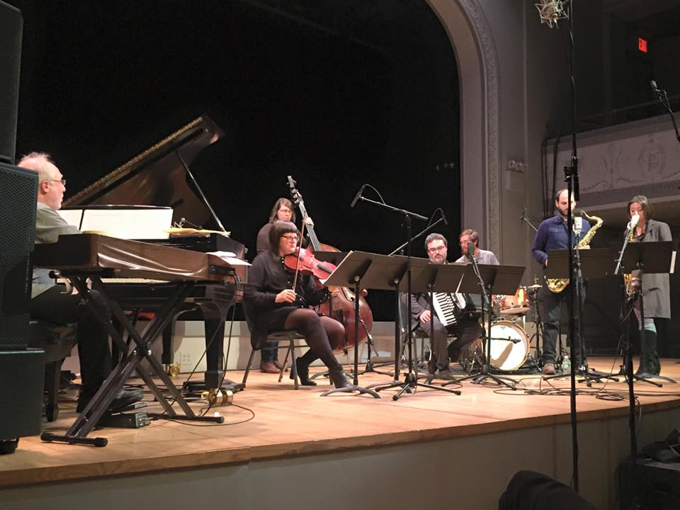 Performance with Anthony Coleman, Tanya Kalmanovitch, Ted Reichman, Kirsten Lamb, Aaron Edgcomb, and Dan Pencer @ Roulette