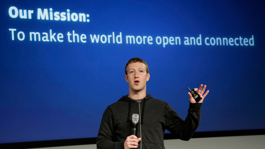 """Some have claimed Facebook CEO Mark Zuckerberg's announcement is akin to """" blowing up Facebook from the inside """". Image:  under30ceo.com"""