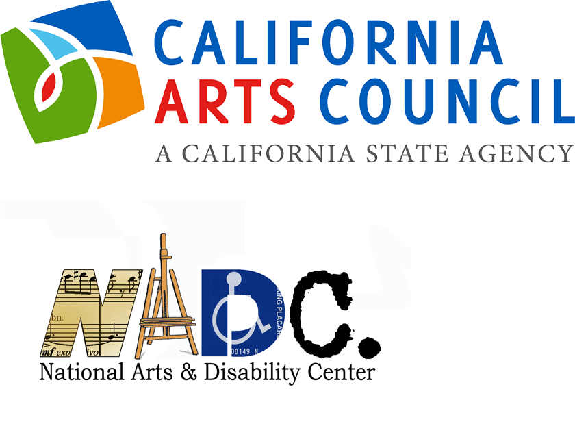 - This activity was supported in part by the California Arts Council, a state agency, and the National Arts and Disability Center at the University of California Los Angeles.