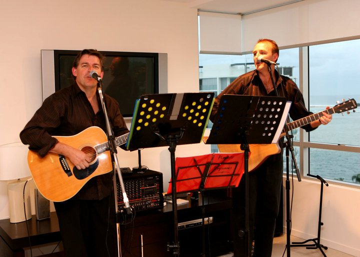 Hi Brendan and Steve - Joey and I wanted to thank you for the AMAZING job you did on our wedding day! We had so much fun and people really enjoyed your music.  Lots of our guests said how much they enjoyed it.  Someone asked me if we knew you personally as they thought you seemed like guys they would like to have a beer with!!!! Thanks again!    Holly and Joe