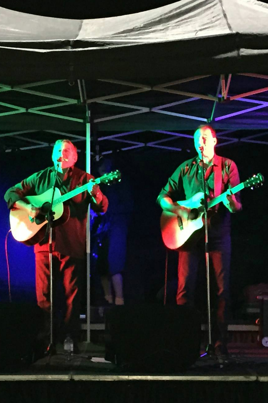 Dear Steve and Brendan - Just wanted to drop you a quick note to thank you so much for your amazing support.  You're the perfect band from start to finish!  People were commenting all night on what a great party band you are, quiet in the early part of the evening, and cranking as the night wears on.    Love Caroline