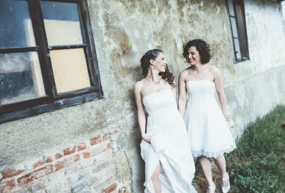 Alice in Wonderland themed same sex wedding styled shoot LGBT Graz Styria Austria