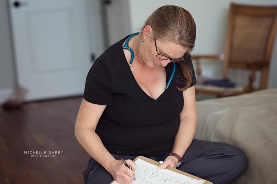 Home birth midwife Kathryn Raynes
