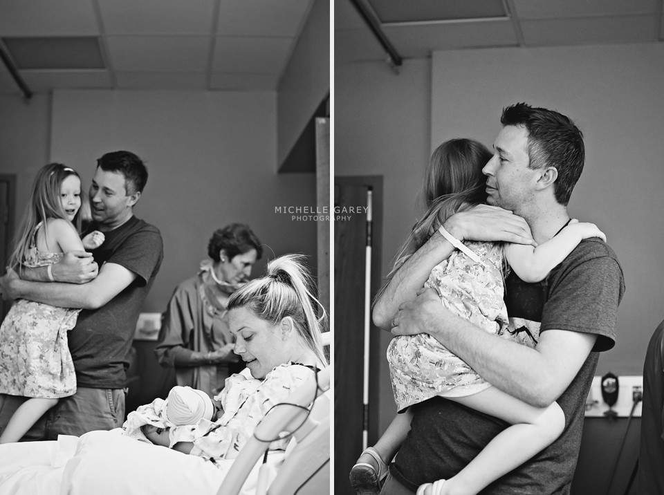 Meeting Baby Sister : Denver Birth Photography