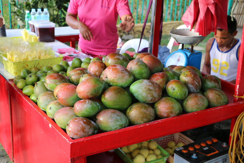 The largest Florida mangoes I've ever seen were found in Dipolog's Sunset Boulevard. These huge fruits were only found in one stall among the many mango vendors that were lined up on the road.