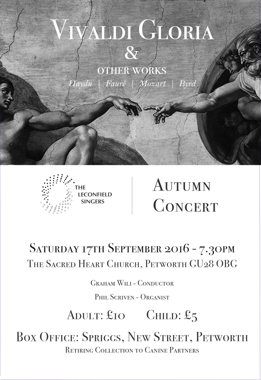The Leconfield Singers - Autumn Concert