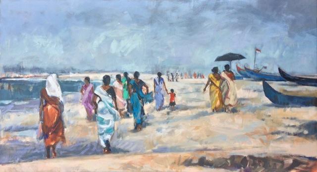 Alappuzha Beach, Kerala. 60 x 110 cmjpeg.jpg
