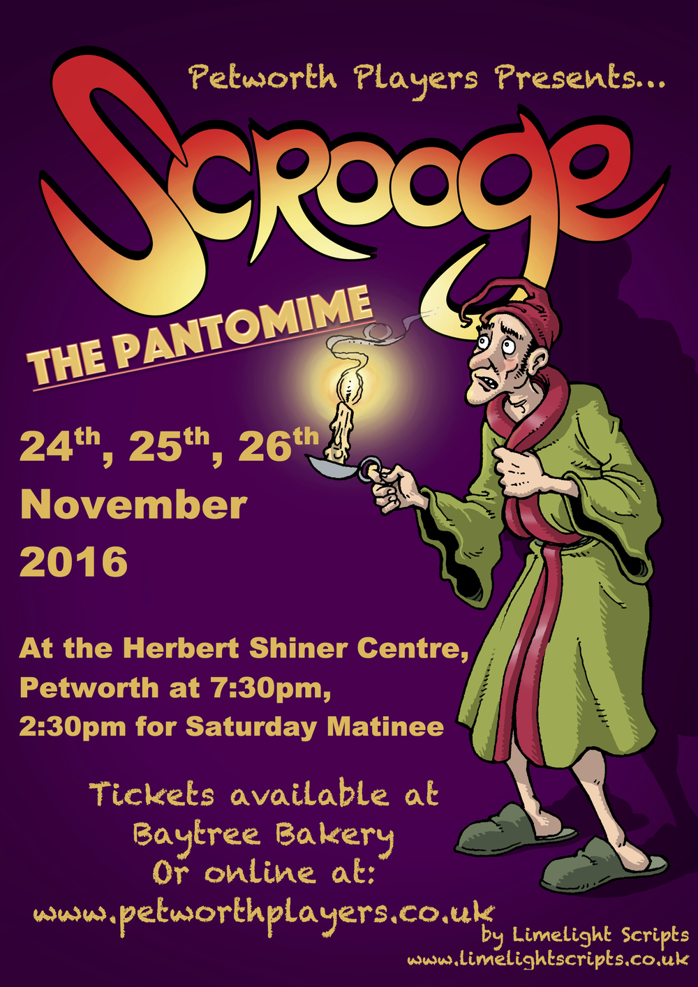 Scrooge The Pantomime - Petworth Players