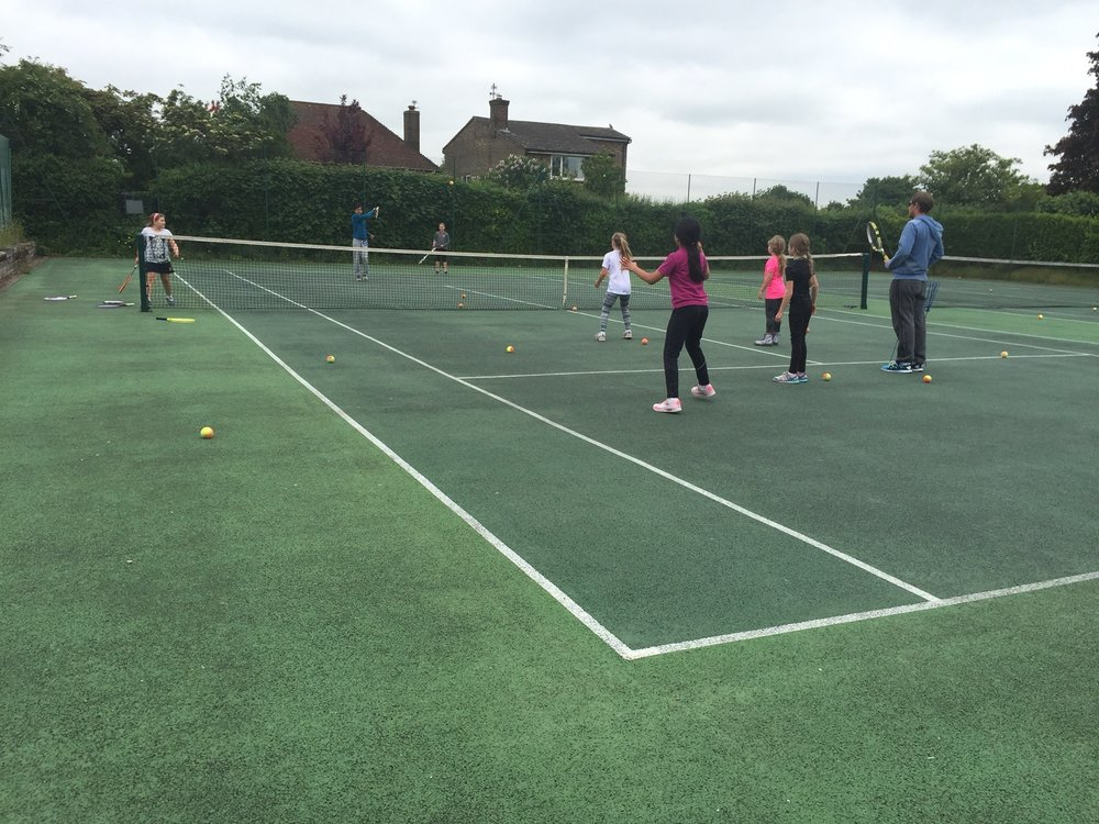 Easter Tennis Camp 2017