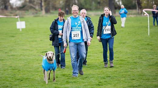 Walk for Parkinson - Cowdray