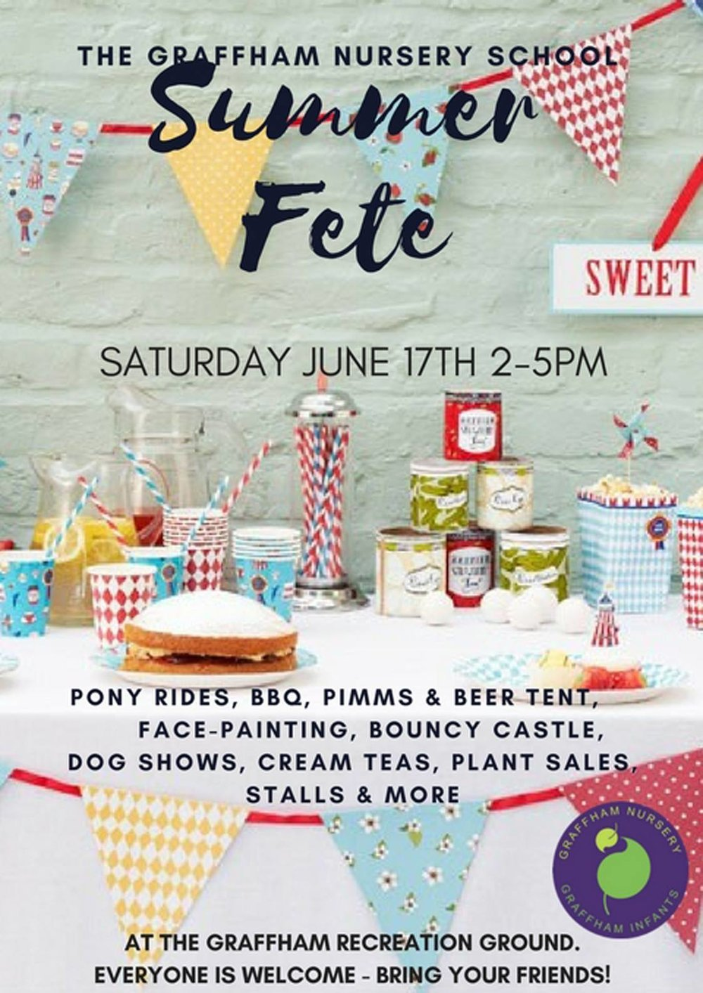 Summer Fete - Graffham Nursery School