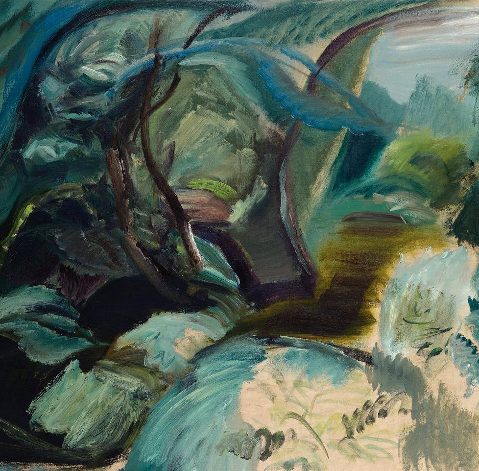 Tangled  Pool, 1981, 71 x 100.8 cm .jpg