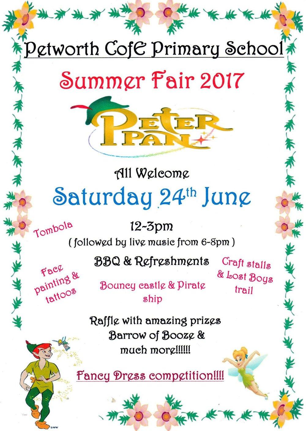 Petworth Primary Summer Fair