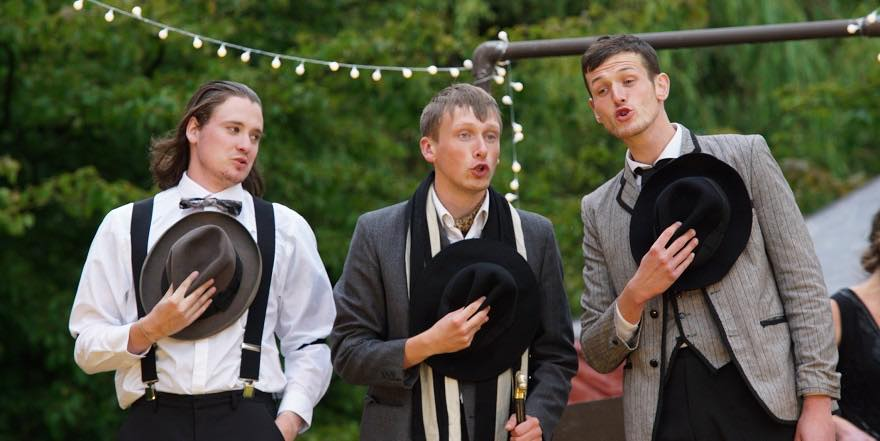Outdoor theatre: The Taming of the Shrew