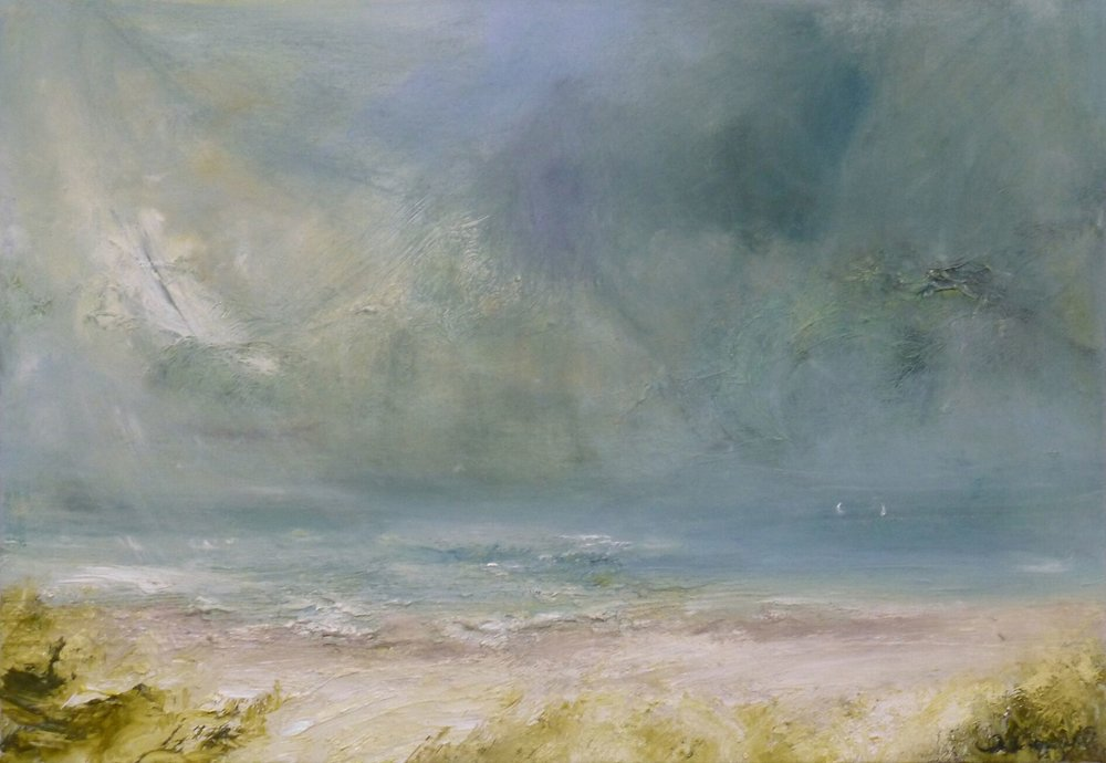 OC-Two Boat Storm-WWittering oil on linen 44 x 66 cm .jpg