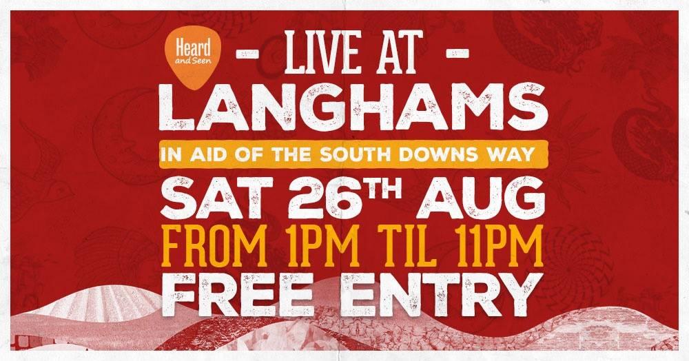 LIVE at Langhams