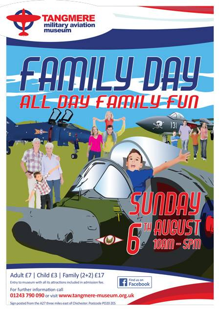 'Family Day' At Tangmere Airfield