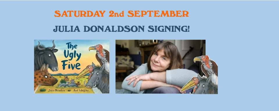 Julia Donaldson Signing Session for The Ugly Five!