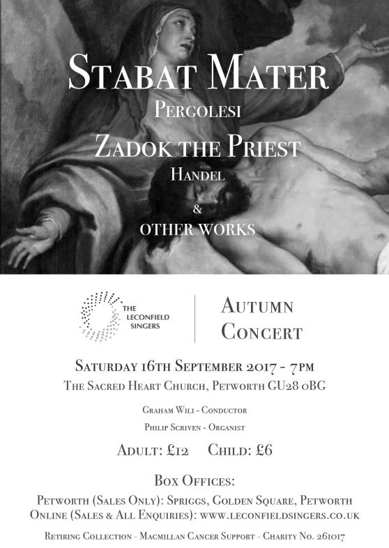 The Leconfield Singers - Autumn Concert