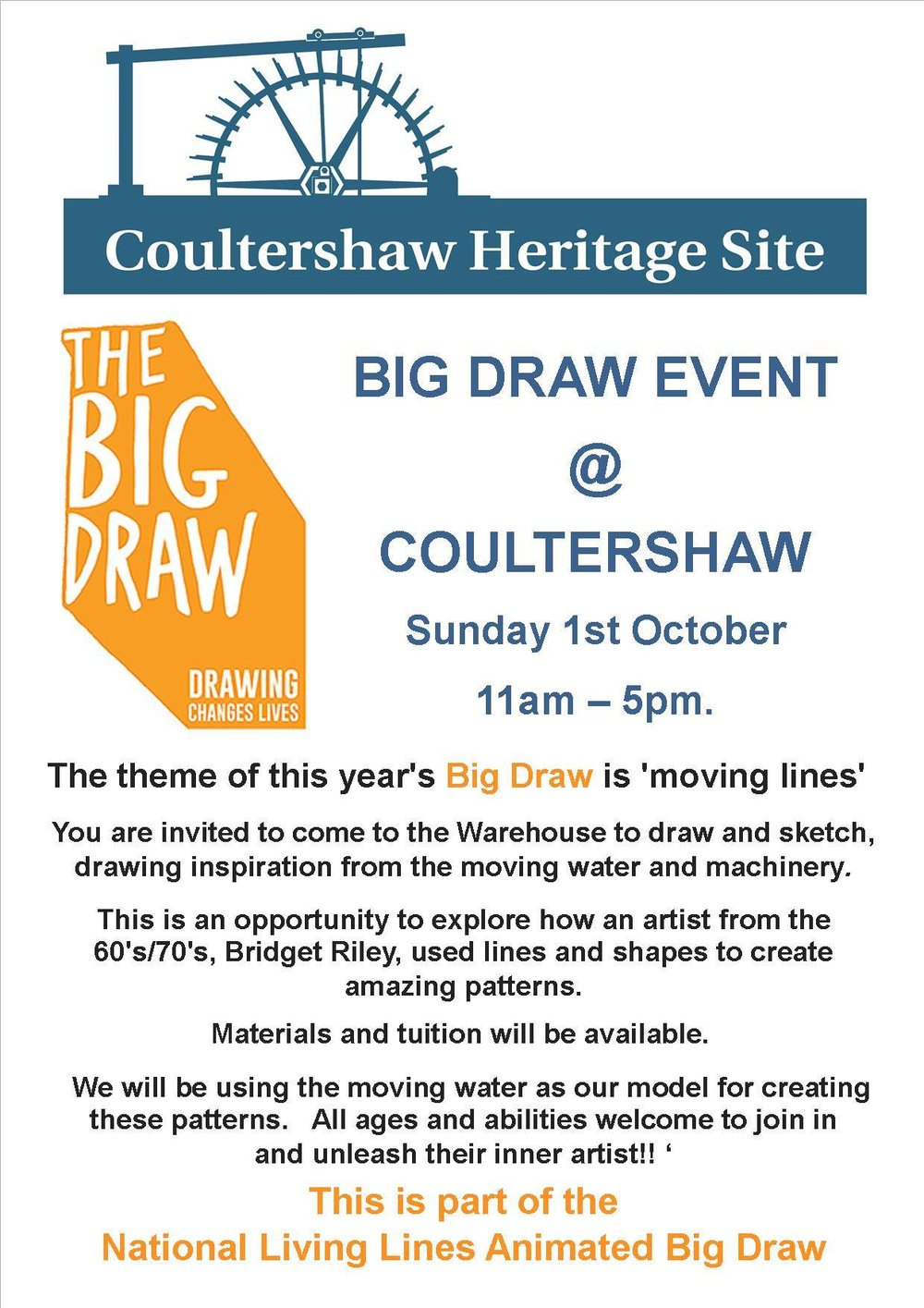 Coultershaw Beam Pump - Big Draw Day