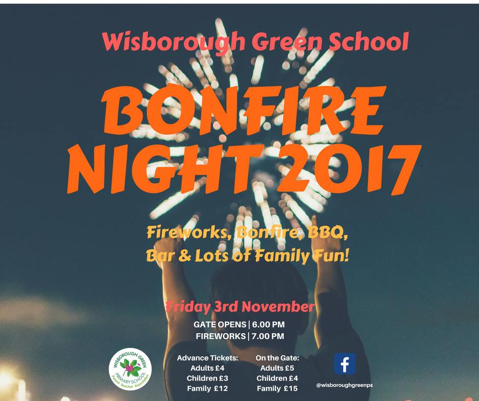 Wisborough Green Primary School Bonfire & Fireworks
