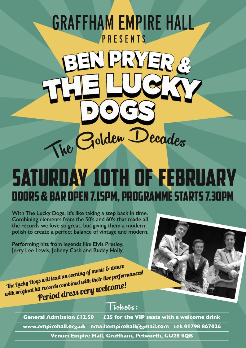 Ben Pryer and The Lucky Dogs