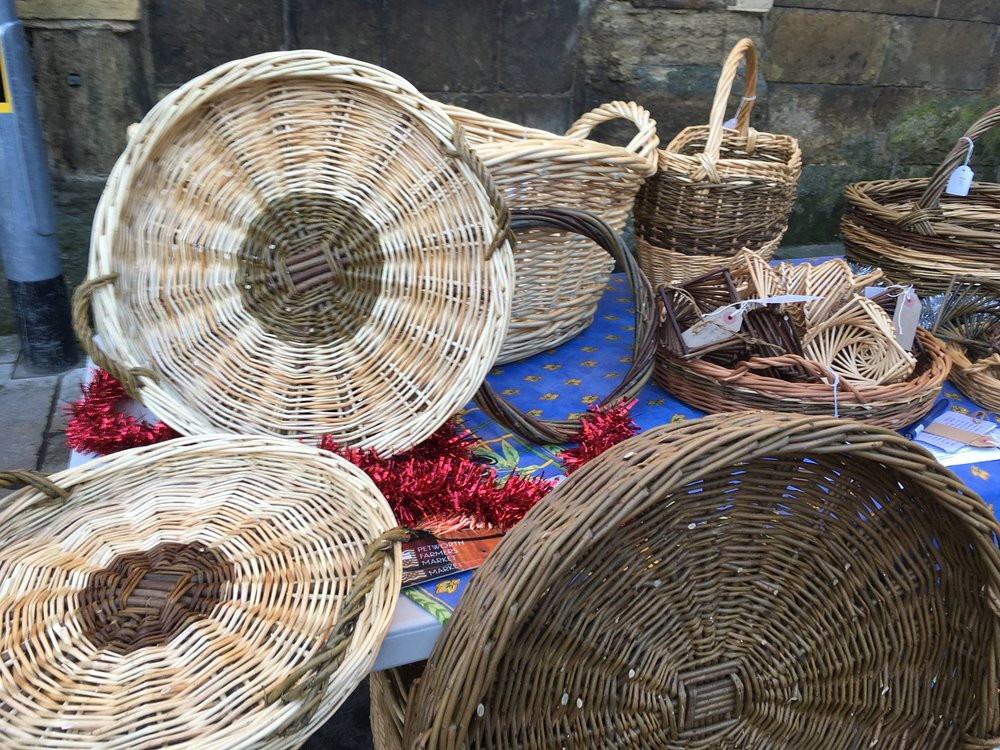 Catherine Beaumont Basketmaker & Willow Weaver The Enchanted Wood