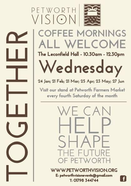 Petworth Vision Coffee Morning
