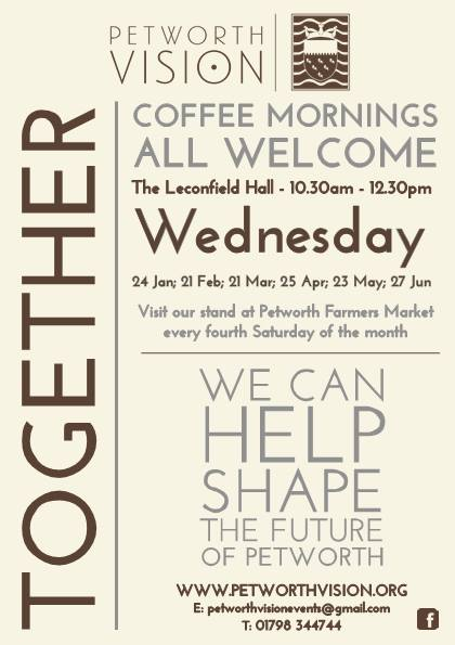 PETWORTH VISION COFFEE MORNING