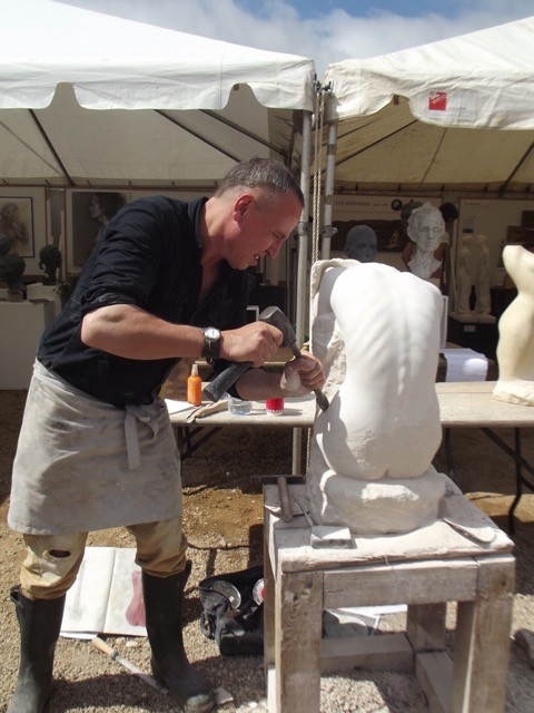 Artist in Residence: Sculptor David Klein